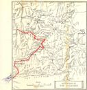 SWITZERLAND: Sketch map of The Engadin 1907